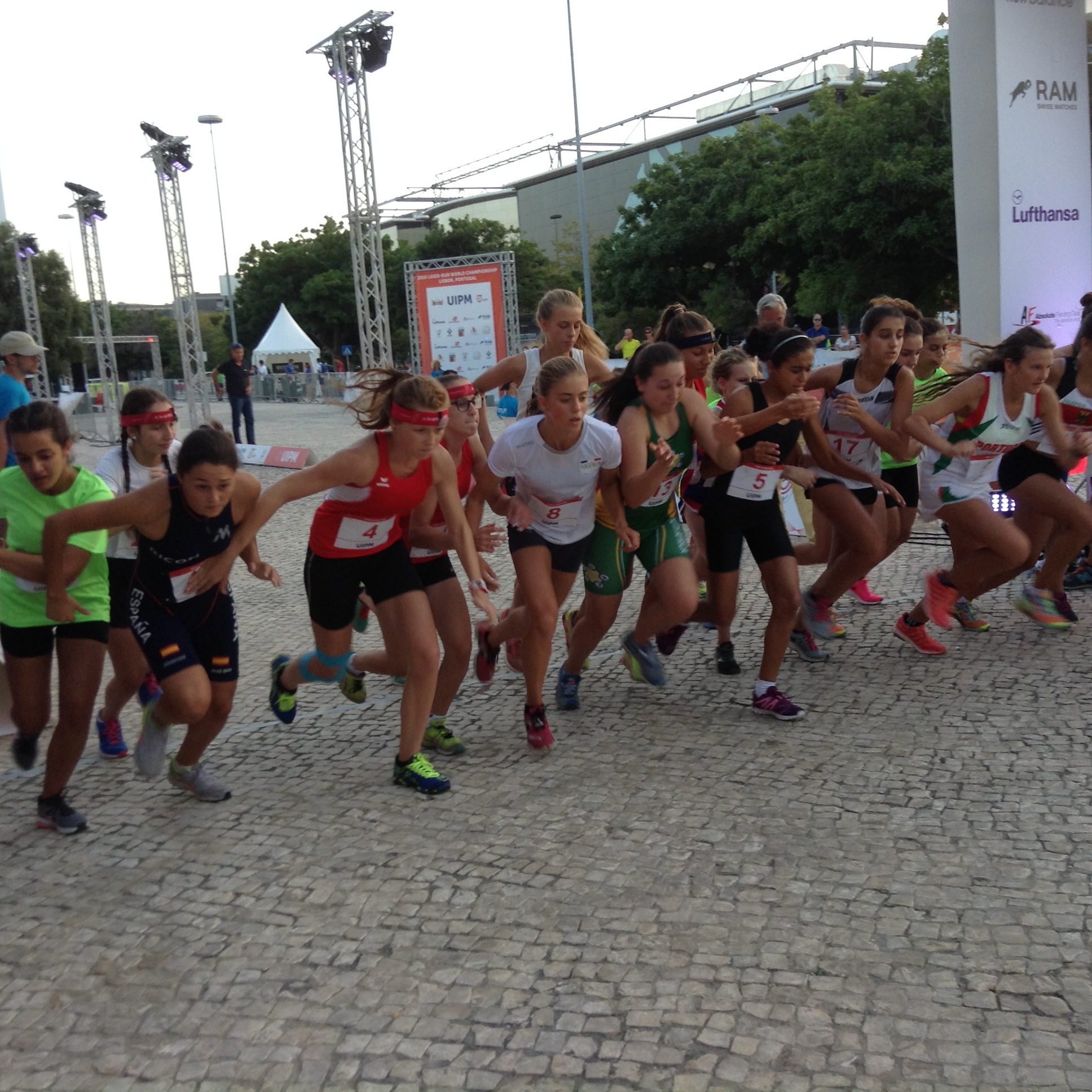 Campeonato del Mundo Laser Run (Lisboa 2016)