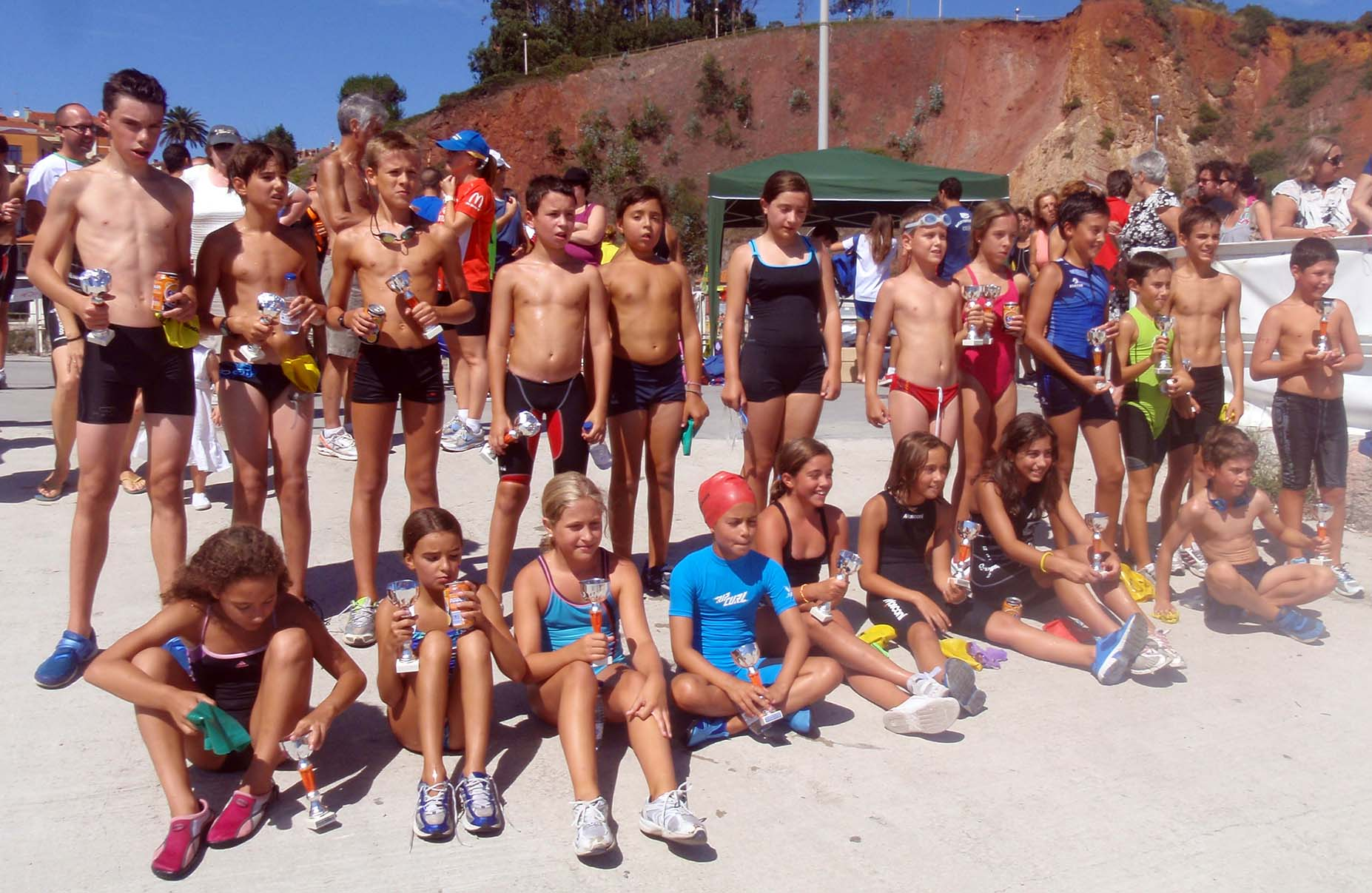 Biatlon de Candas 2012